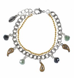 Hultquist Paisley bracelet