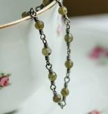 Carré Jewellery Ketting met Labradoriet