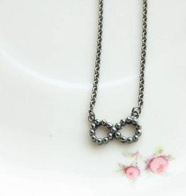 Carré Jewellery Silver Eternity necklace