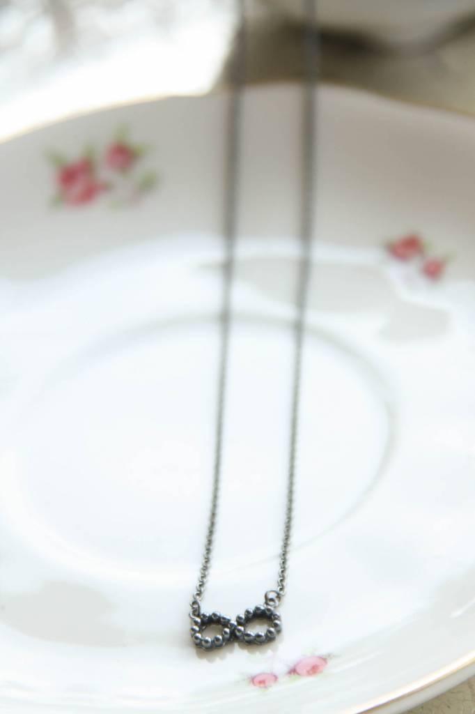 Carré Jewellery Zilveren Carré ketting Eternity