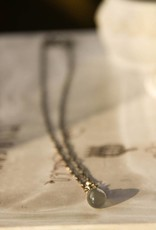Carré Jewellery Necklace with moonstone pendant
