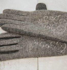 Allerlei Grijze handschoenen