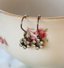 Carré Jewellery Silver Zirconia earrings