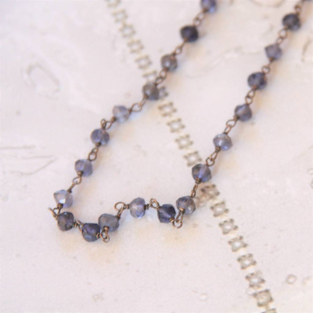 os iolithcoll necklace sue iolite