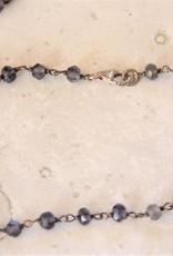 Lacom gems Zilveren ketting met Ioliet