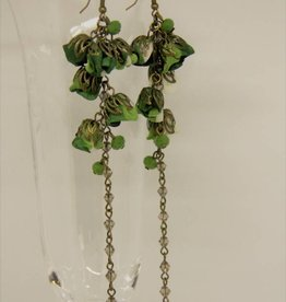 Ana Popova Jade earrings