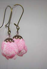 Ana Popova Pink Frida earrings