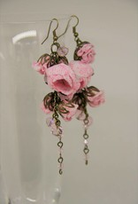 Ana Popova Pink Gabrielle earrings
