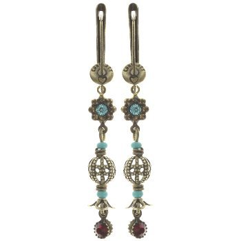 Konplott Earrings Arsenic in Old Lace multi