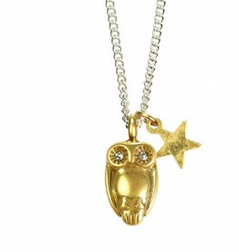 Hultquist Tawny owl necklace