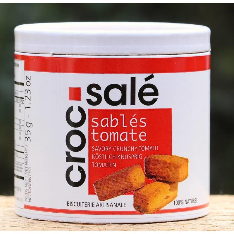 Kokertje zoute tomatenkoekjes Crocs
