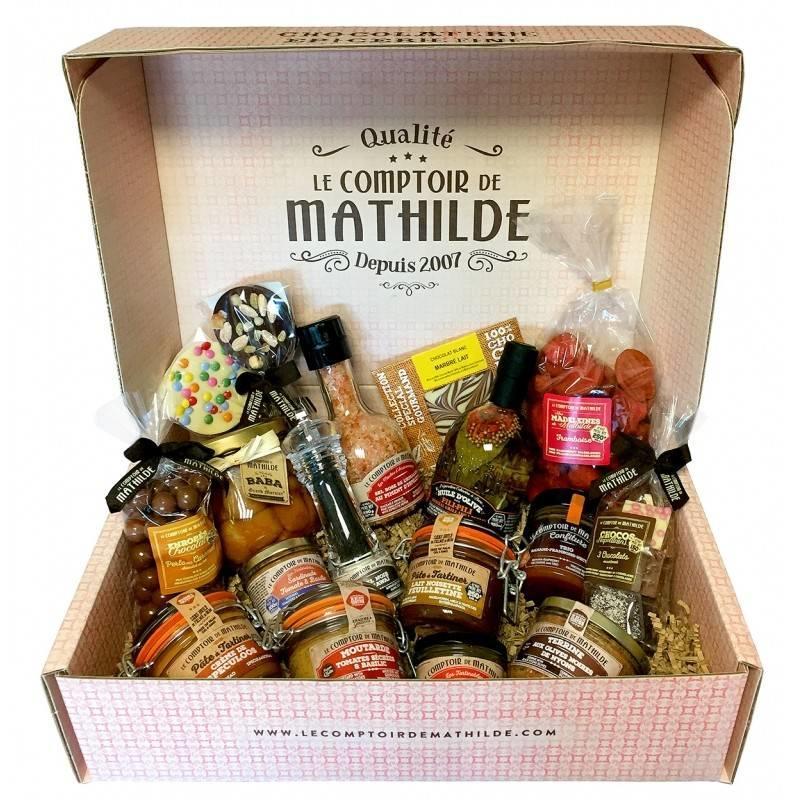 Cadeaupakket met Franse delicatessen