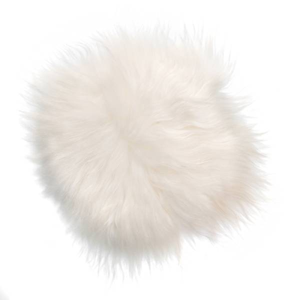 @BERG Stoelpad schapenvacht ivoor