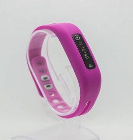 One bracelet de couleur rose foncé