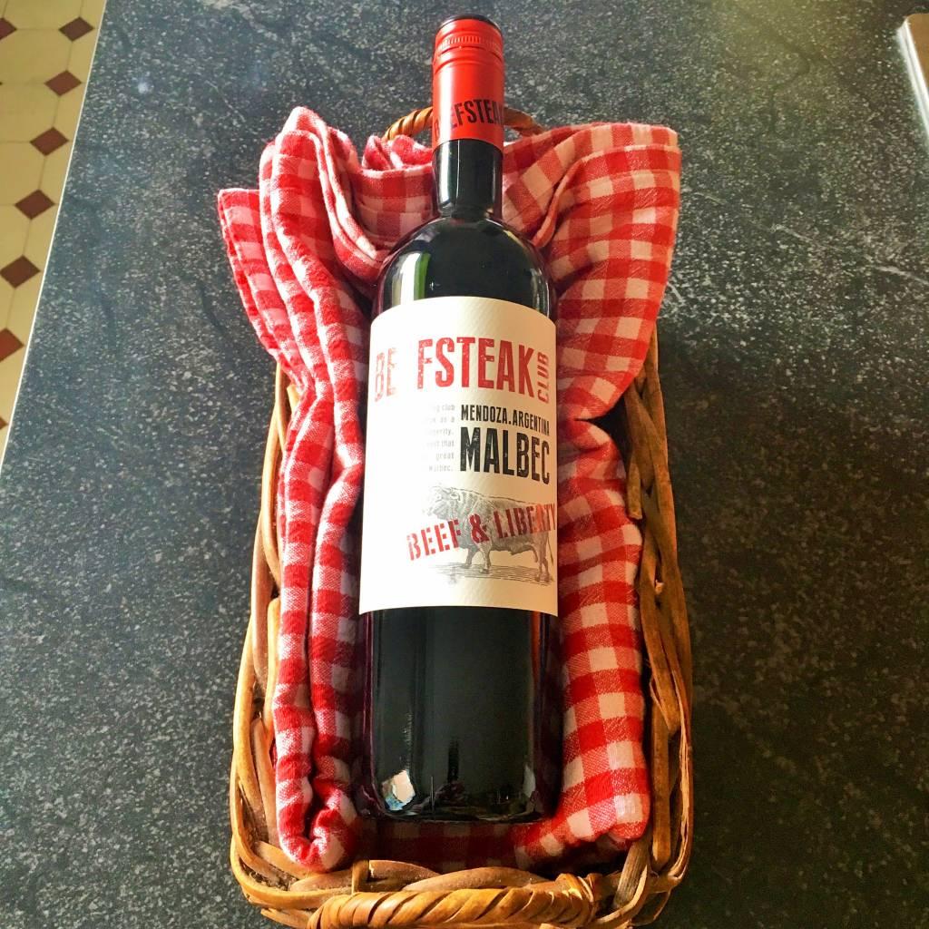 beefsteak club malbec 9.95€/fles