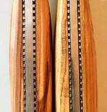 messenset 6 stuks l'aguiole in houten kistje