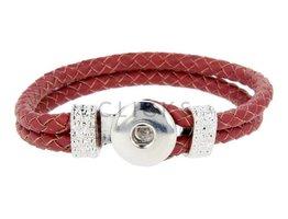 Flechtarmband Leder (VLB017/23)