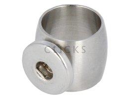 Ring Edelstahl 18mm Grösse 17(RCONR027/17)