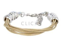 Ibiza Armband : einzelne Bändchen Beige (RIB002)