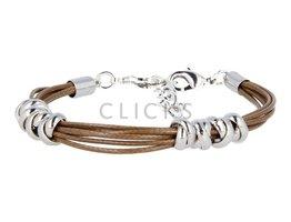 Ibiza Armband : einzelne Bändchen Braun (RIB007)