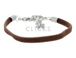Ibiza Armband : einzelne Bändchen Braun (RIB086)