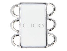Ibiza Armband : Schliesse 3 Weiss (RIS003)