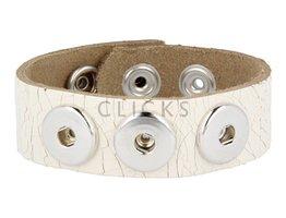 Armband (NBNL322/24) Weiss Krakelee