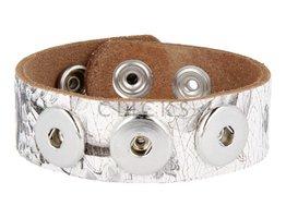 Armband (NBNL323/22) Weiss Blume Krakelee