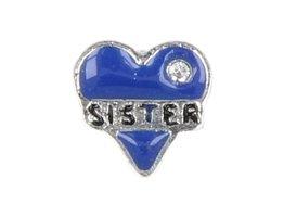 Sweet Memory charm :  Herz Blau (MCJ065)