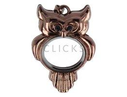 Sweet Memory Locket Eule Bronze (MLJ027)
