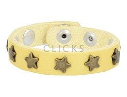 Below 16 Kinderarmband studs 508 geel / goud ster (KB2124SR/G)