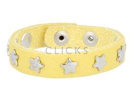 Below 16 Kinderarmband studs 508 geel / zilver ster (KB2158SR/z)