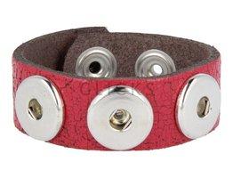 Armband (KB247) Rot Krakelee