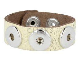 Armband (KB291) Cremefarbe Krakelee