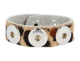 Armband (KB319) Cheetah Haar Mini