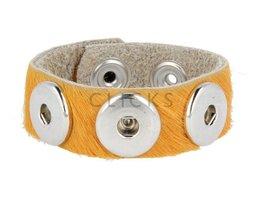 Armband (KB320) Haar Gelb