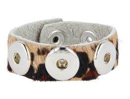 Armband (KB325) Cheetah Haar