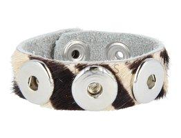 Armband (KB356) Zebrahaar
