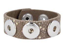 Armband (KB364) Rochen Braun