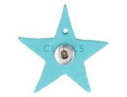 Kettenanhänger Mini Sterne Dunkeltürkis S (KHCM101S)