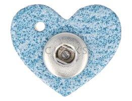Kettenanhänger Mini Herz Douro Blau XS (KHCM092XS)