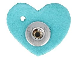 Kettenanhänger Mini Herz Dunkeltürkis XS (KHCM104XS)