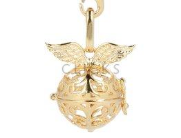 Malai Engelroeper Engelsrufer mit Flügel Gold (ER031G)