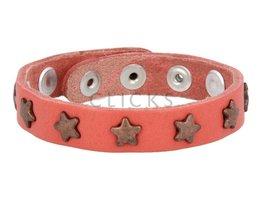 Tenzy 503 Korallenarmband Nieten / bronze star (AB2053SR / B)