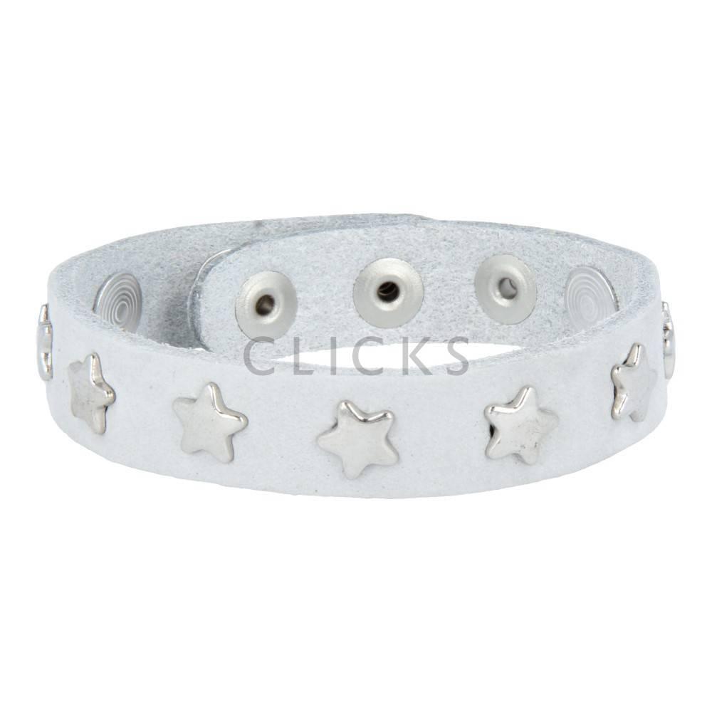 Tenzy 1077 Armband Himmel Nubuk / silver star