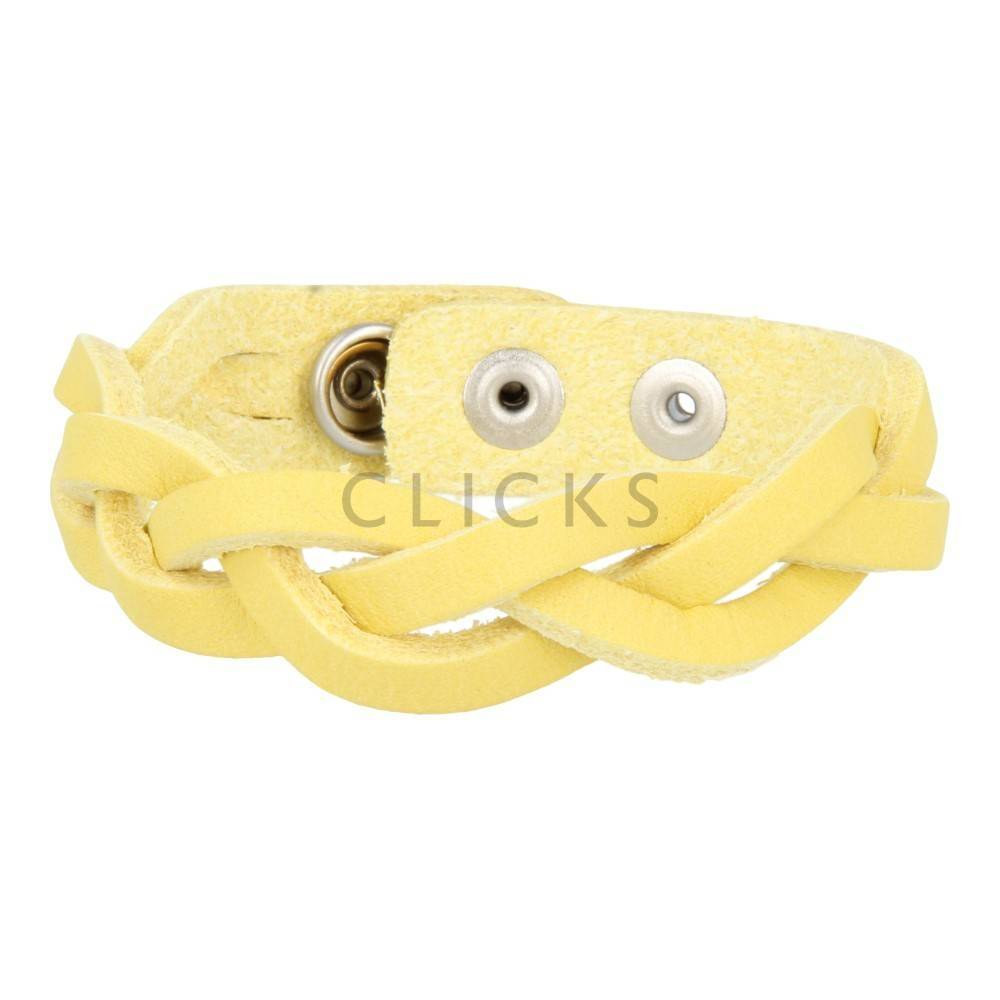 Tenzy Armband 3-breed 503 geel