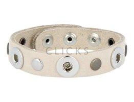 Tenzy Armband studs 1078 sand / 3 miniclick-mix studs