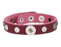 Tenzy Armband Studs 1120 Bordeauxrot/1 MiniClick-Mischung Studs
