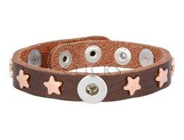 Tenzy Armband Studs 1047 Bronze/1 MiniClick-Sterne Rosé