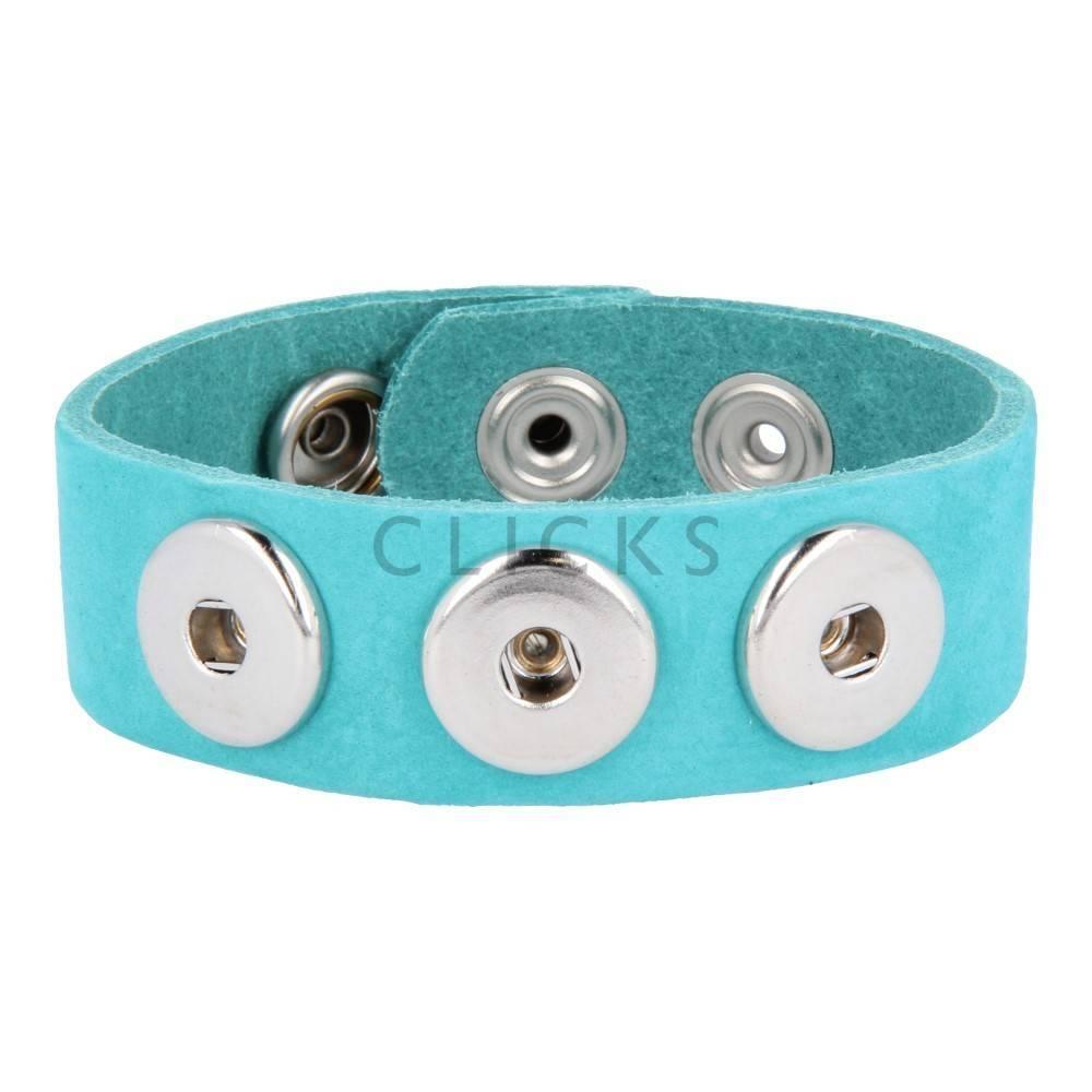 Clicks Armband Clicks Dunkeltürkis Nubuk (1003L21)